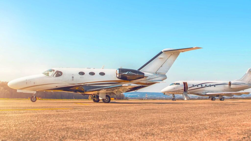 small jet charter